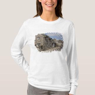 T-shirt Cottages, village de château de Corfe, Dorset,