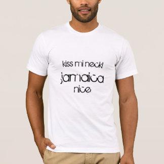 T-shirt Cou de MI de baiser ! La Jamaïque gentille