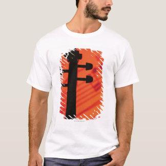 T-shirt Cou de violon