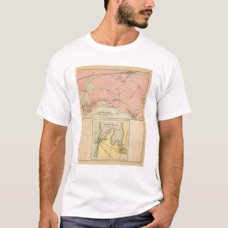 T-shirt Cou Scarborough, plages de Prouts de Higgins