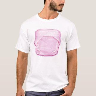 T-shirt Couche-culotte de bébé (personnalisable)