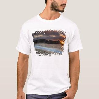 T-shirt Coucher du soleil à la plage de monastère, Carmel,