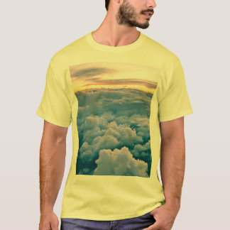 T-shirt Coucher du soleil aérien