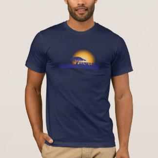 T-shirt Coucher du soleil africain