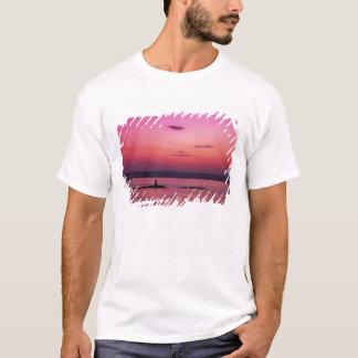 T-shirt Coucher du soleil au-dessus d'île de Skye, de