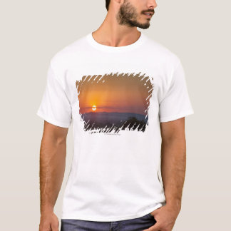 T-shirt Coucher du soleil au-dessus du paysage africain