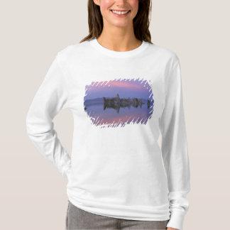 T-shirt Coucher du soleil au lac mono, CA
