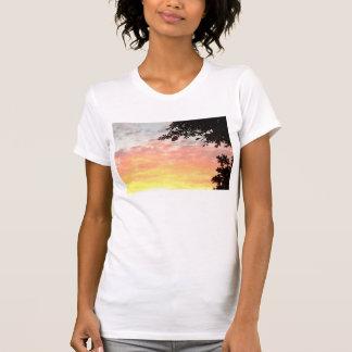 T-shirt Coucher du soleil coloré