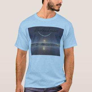 T-shirt Coucher du soleil d'Alaska