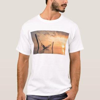 T-shirt Coucher du soleil de Bali
