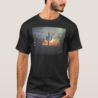 T-shirt Coucher du soleil de désert