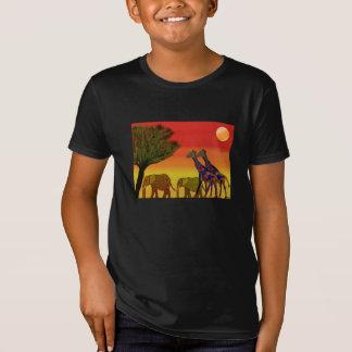 T-Shirt Coucher du soleil de jungle