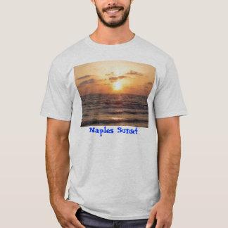 T-shirt Coucher du soleil de Naples