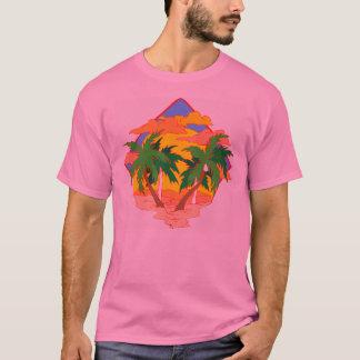 T-shirt Coucher du soleil de plage
