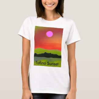 T-shirt Coucher du soleil de Tofino