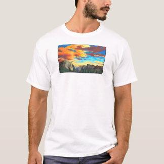 T-shirt Coucher du soleil de Yosemite