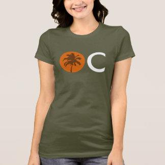 T-shirt Coucher du soleil d'OC