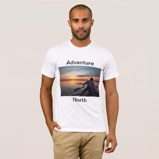 T-shirt Coucher du soleil du nord