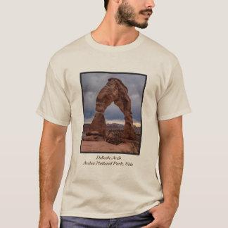 T-shirt Coucher du soleil orageux - voûte sensible - Moab