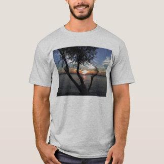 T-shirt Coucher du soleil sur le lac Calaveras