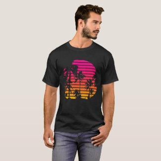 T-shirt Coucher du soleil tropical