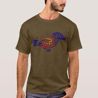 T-shirt Coucou terrestre antique de conception du Mexique