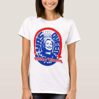 T-shirt Couleur de chemise de la Reine de Hillary Clinton