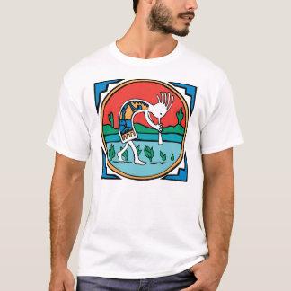 T-shirt Couleur de Kokopelli