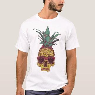 T-shirt Couleur faite sur commande punk d'ananas génial