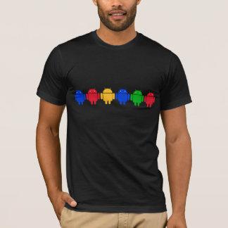T-shirt Couleurs androïdes