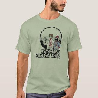 T-shirt couleurs claires de base de pièce en t de