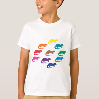 T-shirt Couleurs de loutre