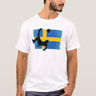 T-shirt Coup-de-pied de bicyclette de la Suède
