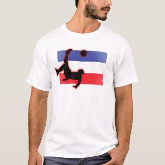 T-shirt Coup-de-pied de bicyclette du Serbie-et-Monténégro