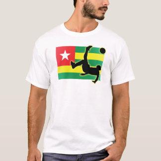 T-shirt Coup-de-pied de bicyclette du Togo