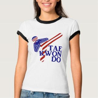 T-shirt Coup-de-pied des Etats-Unis le Taekwondo (1)