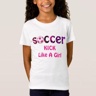 T-Shirt COUP-DE-PIED du football comme une chemise de