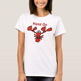 T-shirt Coup sur le homard d'écrevisses