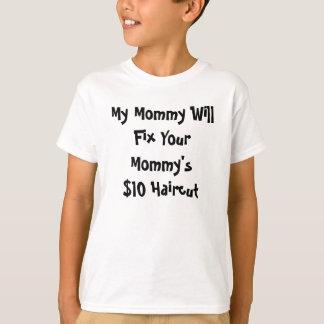 T-shirt Coupe de cheveux