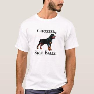 T-shirt Couperet, boules malades