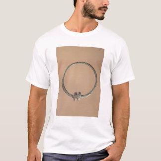T-shirt Couple avec des conceptions ternaires, 5ème-4ème