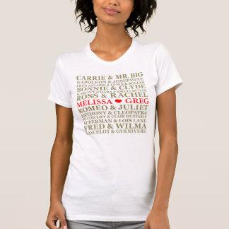 T-shirt Couples célèbres