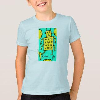 T-shirt Coups de pied du robot