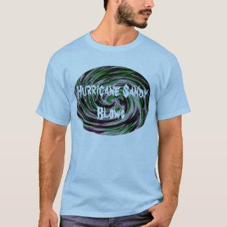 T-shirt Coups de Sandy d'ouragan