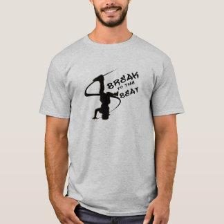 T-shirt Coupure au battement
