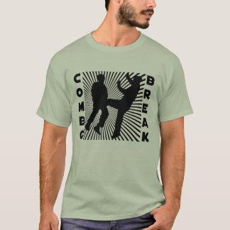 T-shirt Coupure combinée
