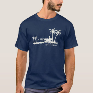 T-shirt Coupure de rivage