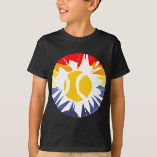 T-shirt Coupure de tennis