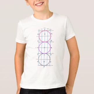T-shirt cour de dressage de 20x60m ** cercles **