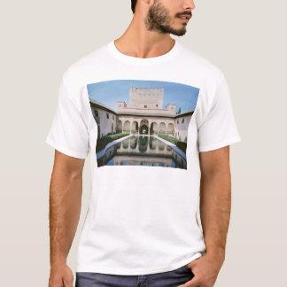 T-shirt Cour des myrtes, commencée en 1333